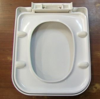 square toilet seat uk.  Asia Square Soft Close Top Fix Heavy Weight Toilet Seat 02000019